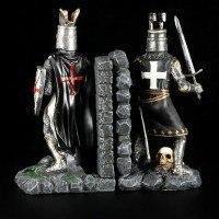Buchstützen Paar Ritter