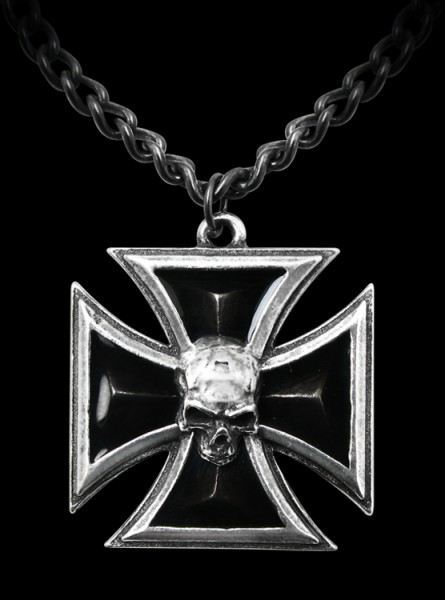 Black Knight's Cross - Alchemy Metal Wear - Pendant