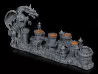Drachen-Kerzenhalter fünffach