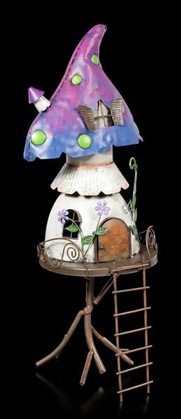 Fairy Metal House - Mushroom Heights