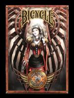 Poker Spielkarten - Steampunk by Anne Stokes