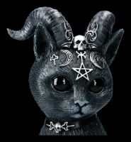 Occult Caaaat Figurine with Horns - Pawzuph large
