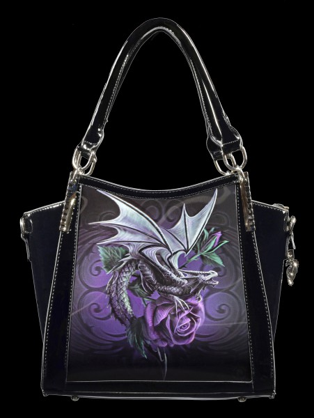 Fantasy Handbag with 3D Picture - Dragon Beauty