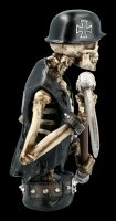Skeleton Biker Figurine with Scythe - Ride out of Hell