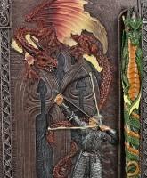 Ritter Notizbuch mit Drachen Kugelschreiber