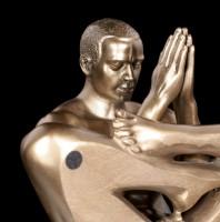 Male Nude Figurine - Cross legged