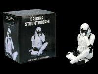 Stormtrooper Figurine - See no evil