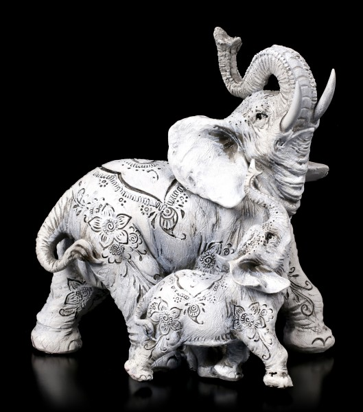 Elephant Figurines - Henna Happiness