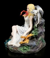 Maiden and Dragonlings Figurine