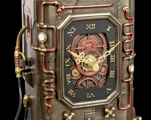 Mantel Clock - Steampunk Fuel Dispenser