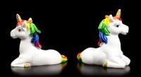 Einhorn Figuren Geschenk Set - Rainbow Wishes