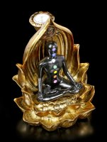Backflow Incence Cone Holder - Chakra Yoga