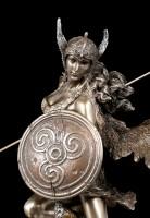 Walküre Figur - Nordische Göttin mit Speer