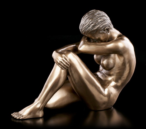 Female Nude Figurine - Melanie bronzed