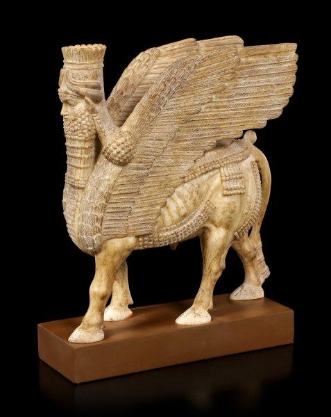 Assyrian Sphinx Figurine - Lamassu