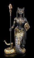 Bastet Figur mit Schlangenkörper