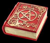Schatulle - Book of Spells - rot