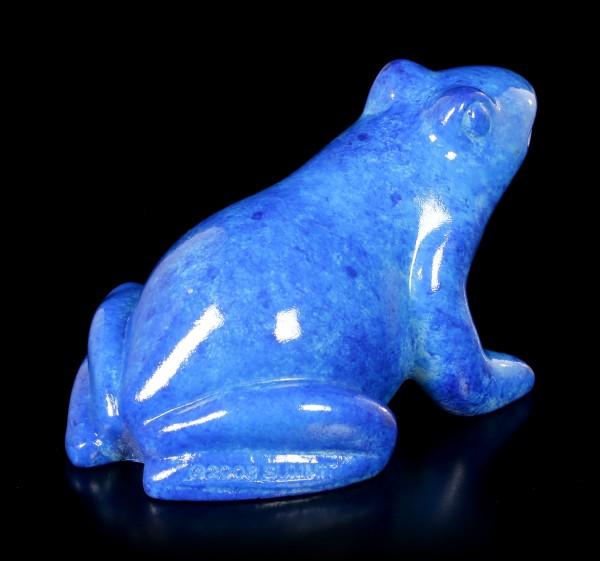 Ägyptische Figur - Blauer Frosch