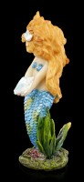 Mermaid Figurine with Shell