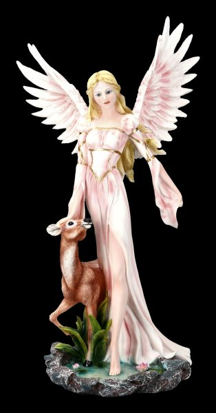 Angel Figurine - Guardian of the Forest Animals