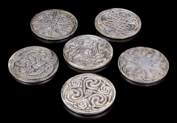 Vorschau: Keltische Untersetzer - 6er Set