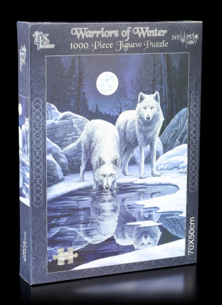 Wolf Jigsaw Puzzle - Warriors of Winter