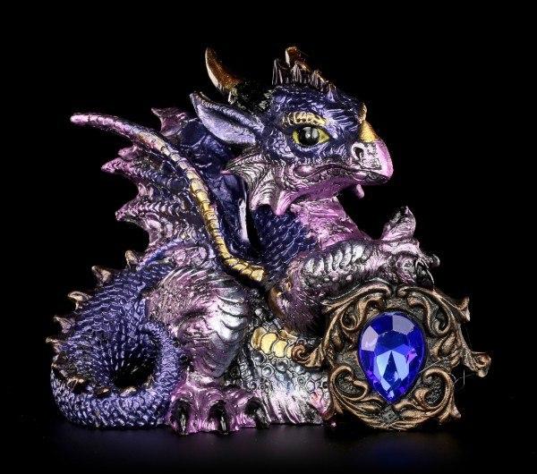 Drachen Figur - Tyrian mit Kristall