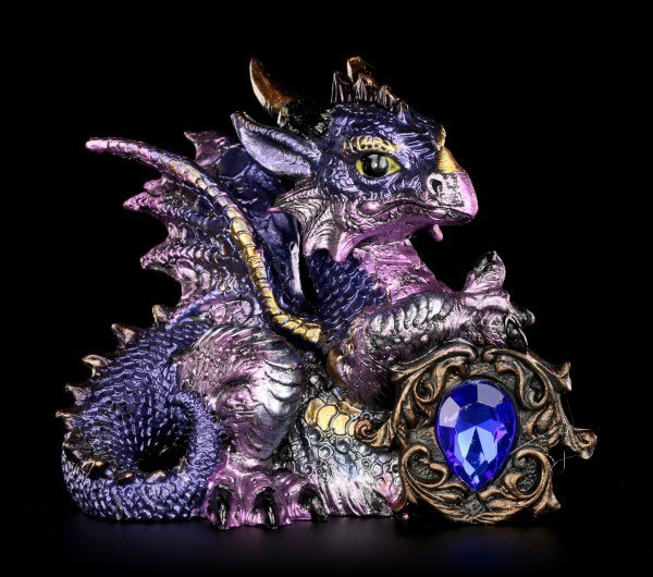 Dragon Figurine - Tyrian with Diamond