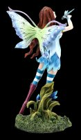Elfen Figur - Juna mit Libelle