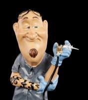 Funny Job Figur - Tätowierer mit Glatze