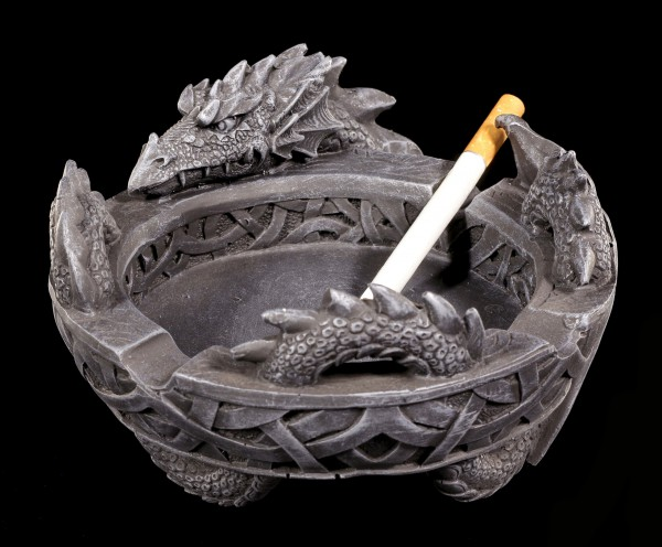 Drachen Aschenbecher - Enriched Smoke