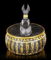 Anubis Figurine - Egyptian Box