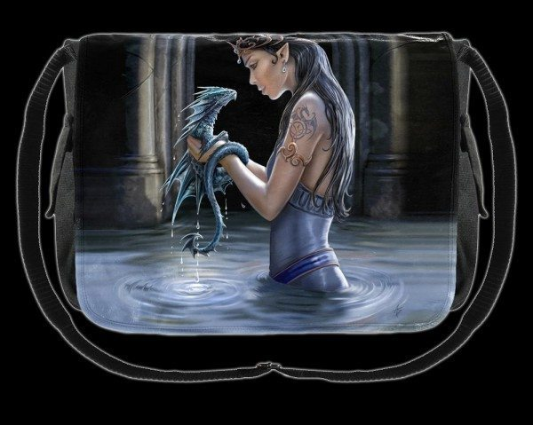 Umhängetasche - Water Dragon