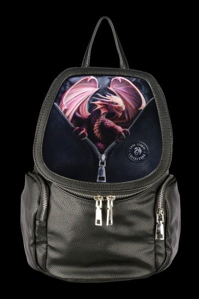 3D Rucksack mit Drache - Peeping Dragon