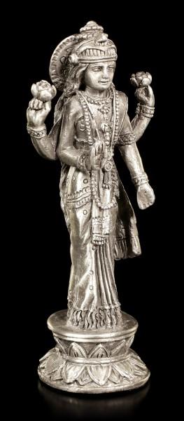 Lakshmi Zinn Figur - Indische Göttin
