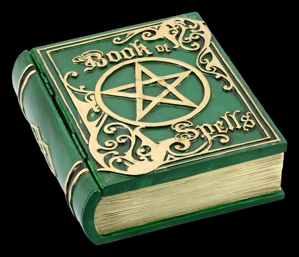 Box - Book of Spells - green