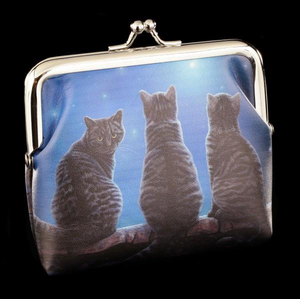 Geldbeutel mit Katzen - Wish Upon a Star