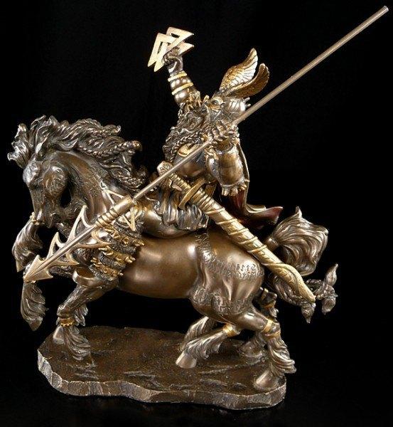 Odin with Horse Sleipnir (8 legs)