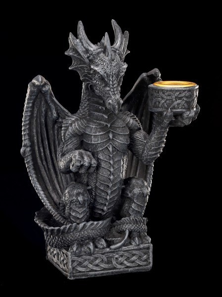 Dragon holding Candle