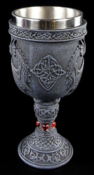 Goblet with two Dragons