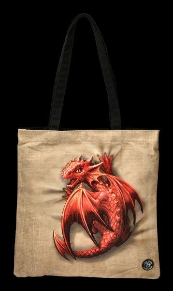 Tote Bag with Dragon - Wyrmling