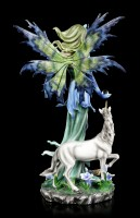 Fairy Figurine - Anra with Unicorn