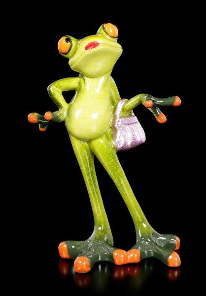 Funny Frog Figurine - Glamorous