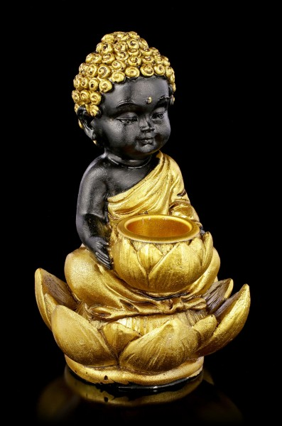 Backflow Räucherkegelhalter - Baby Buddha