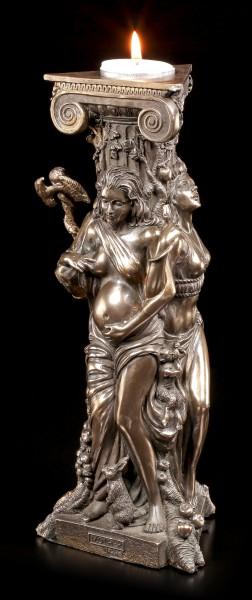 Teelichthalter - Dreifaltige Göttin