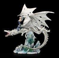 Dragon Figurine - Candidus with Ice Princess