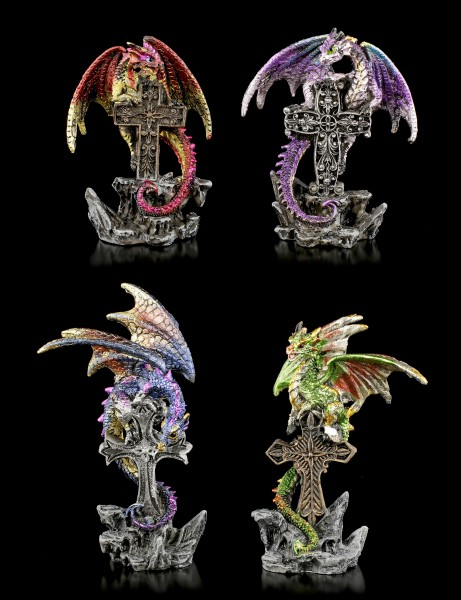 Dragon Figurines Set of 4 - Grave Servant