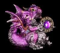Drachen Figur - Amethyst Dragonling