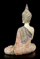 Buddha Figur meditierende - Hand vor Brust