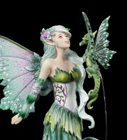 Fairy Figurine with Dragon - Discovery by Amy Brown